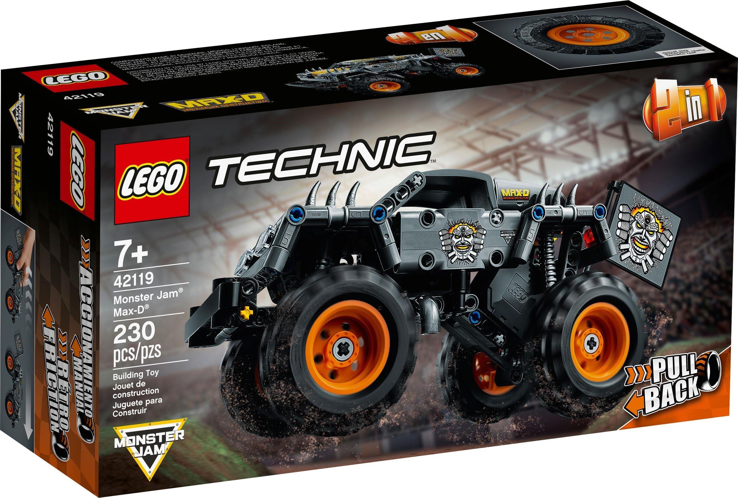 LEGO Technic - Monster Jam - Max-D (42119)