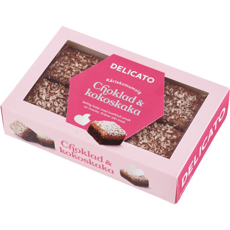 Choklad- & Kokoskaka 240g - 40% rabatt