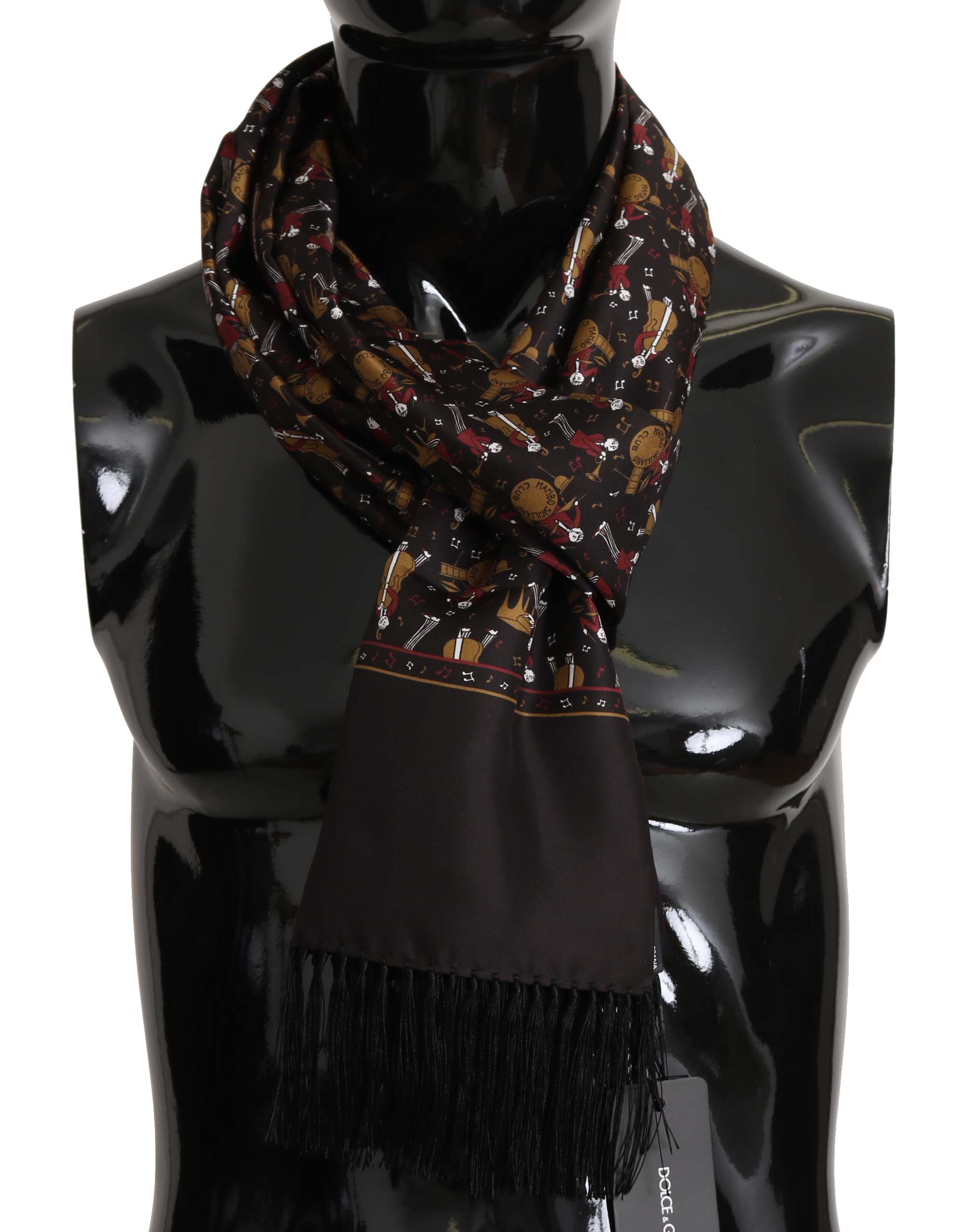 Dolce & Gabbana Men's Scarf Brown MS5137