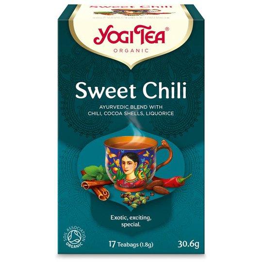 Yogi Tea Sweet Chili, 17 påsar