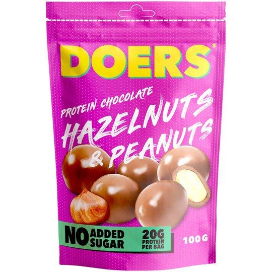 Proteinchoklad Hassel- & Jordnötter - 40% rabatt