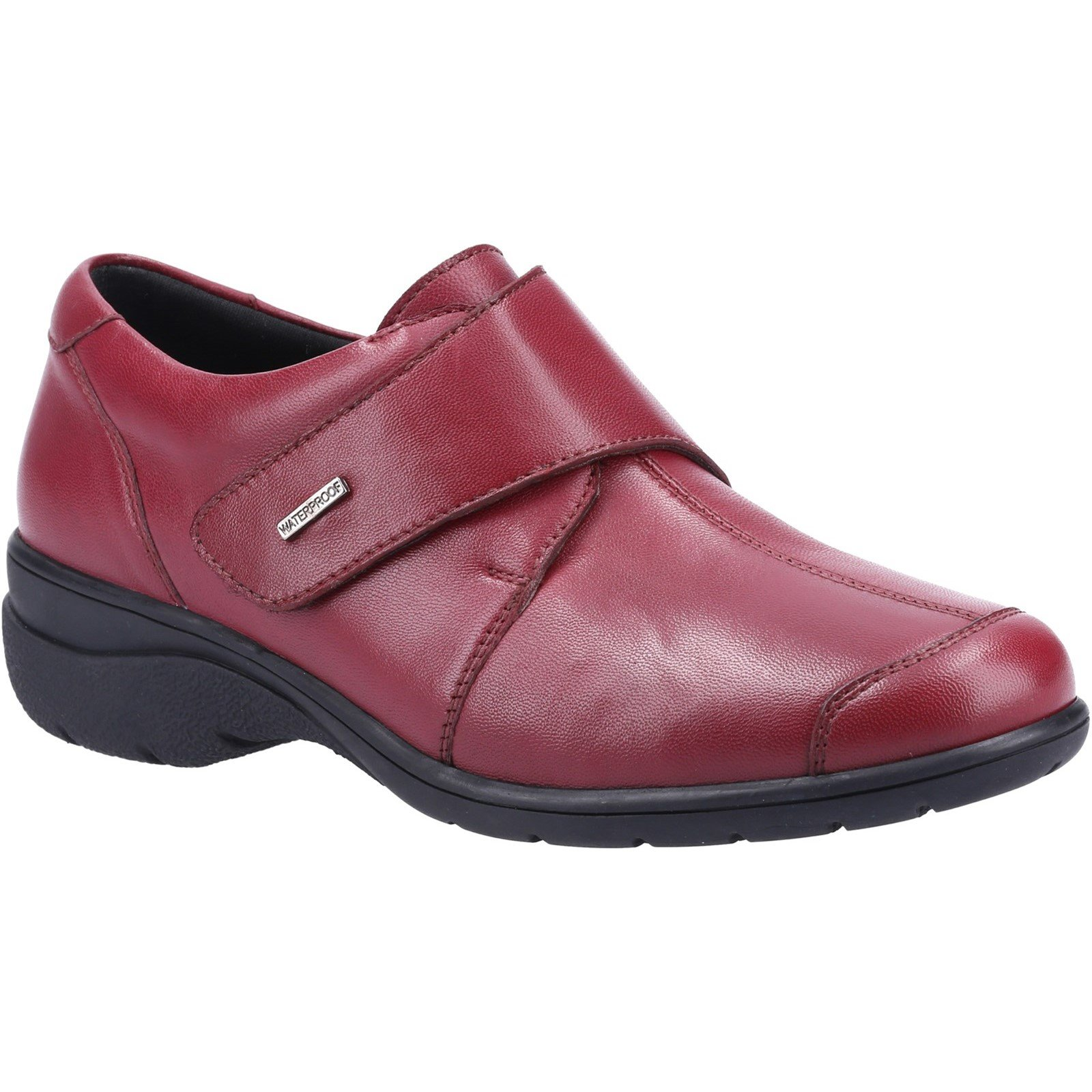 Cotswold Women's Cranham Touch Fastening Trainer Various Colours 32980 - Red 3