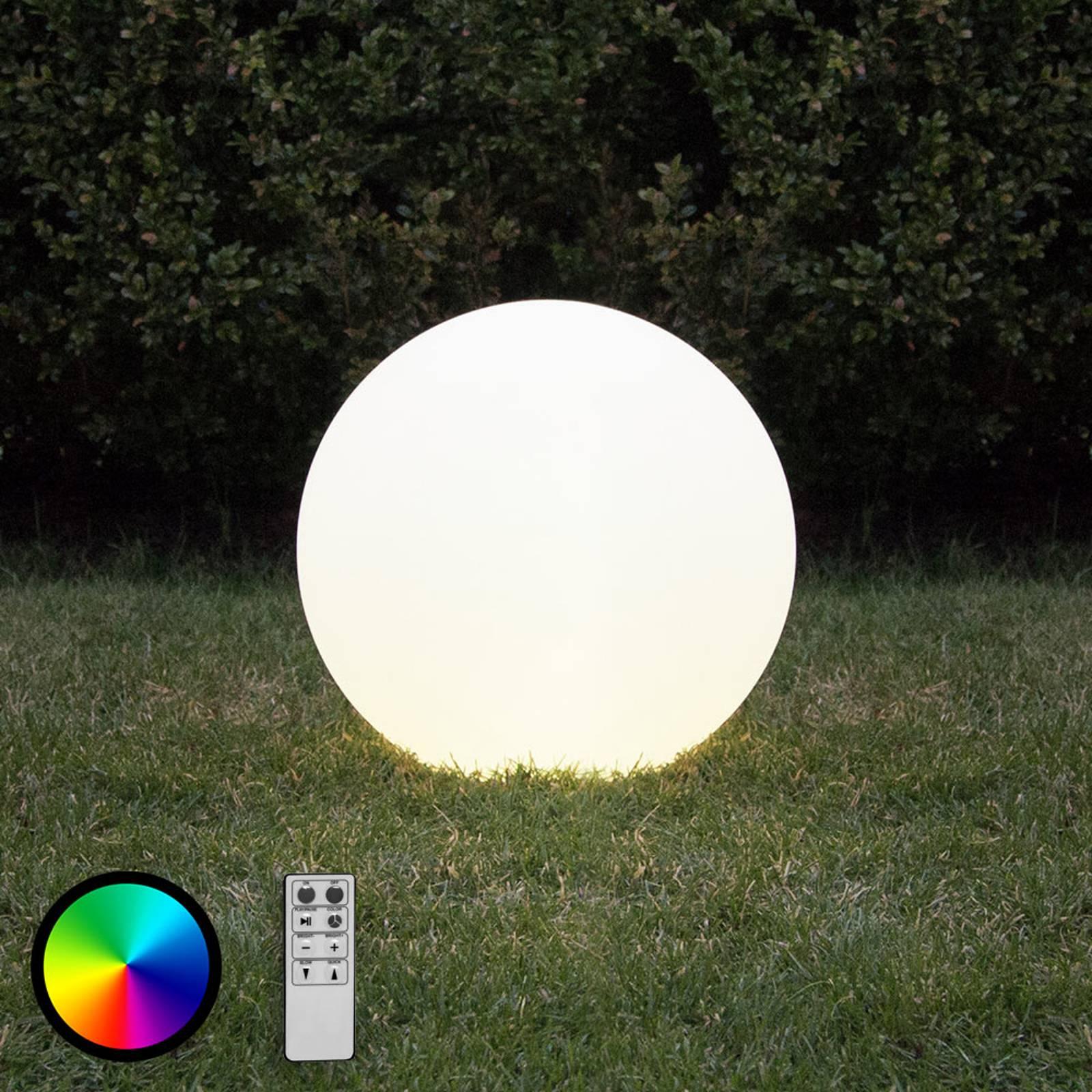Twilights-LED-pallot kaukosäätimellä, 20cm