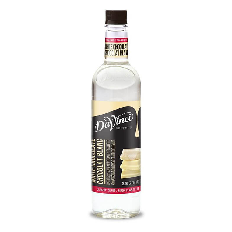 DaVinci Gourmet Syrup Classic White Chocolate 750ml