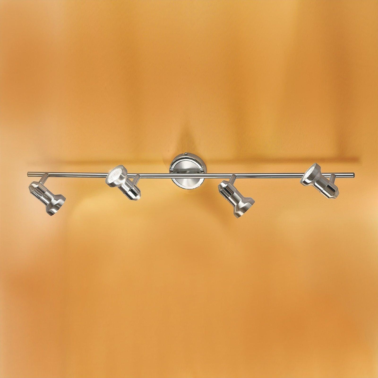 Strålende BARBORA taklampe med fire lys