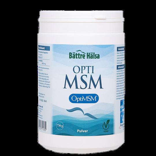 MSM Ren Optimsm, 750 g