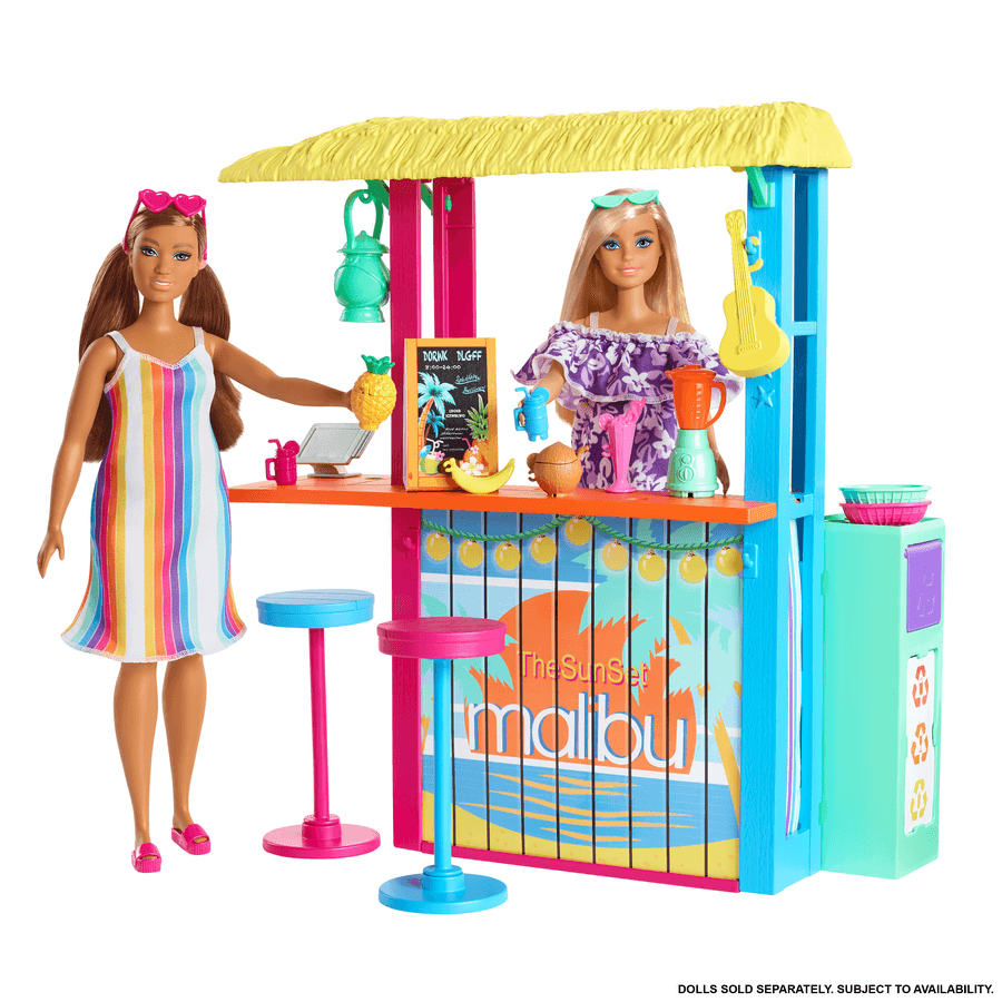 Barbie - The Ocean Beach Shack Playset (GYG23)