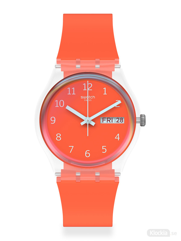 SWATCH Red Away 34mm GE722