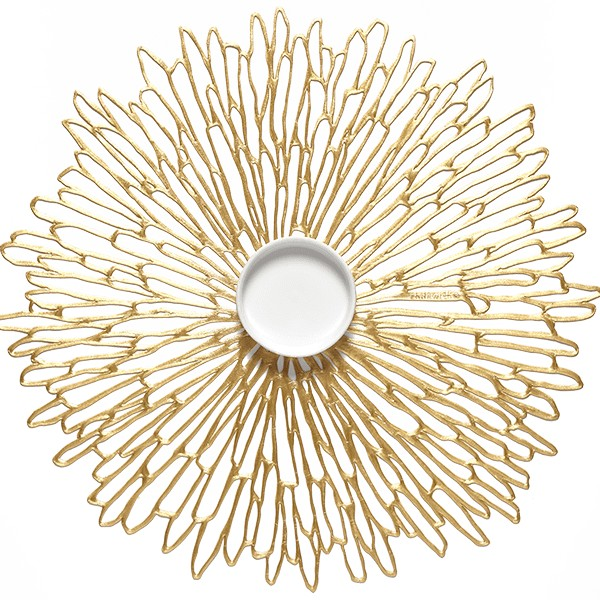 Chilewich I Bloom Placemat I Gilded
