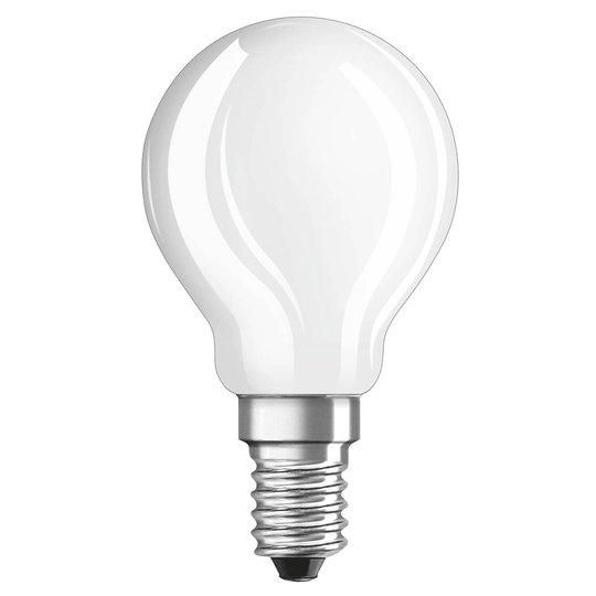 OSRAM-LED-golfpallolamppu E14 2,8W 827, himmennys