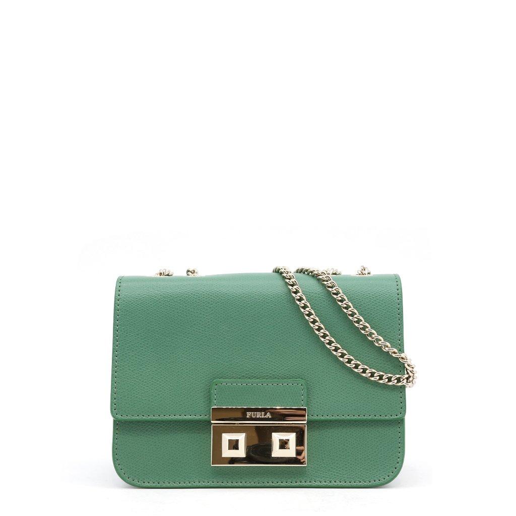 Furla Women's Shoulder Bag Various Colours BELLA_BQJ3LND - green NOSIZE