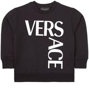 Versace Logo Tröja Svart 4 år