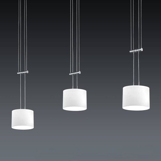 BANKAMP Grazia LED-pendellampe, ZigBee, 3 lys