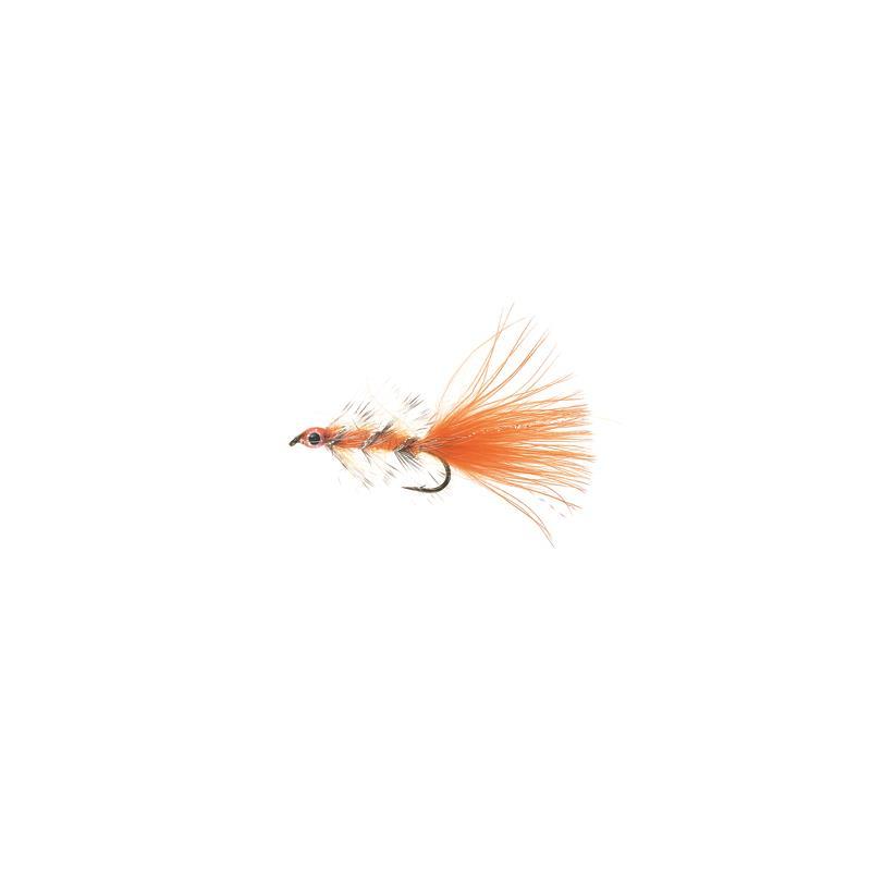 Swim Bugger #8 Fluo Orange Kjøp 12 fluer få gratis flueboks