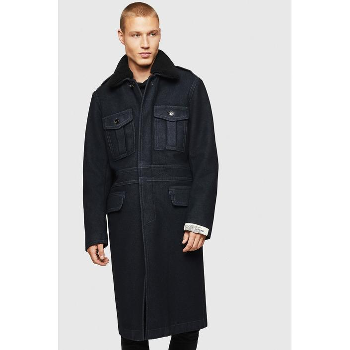 Diesel Men's Coat Blue 320394 - blue 48