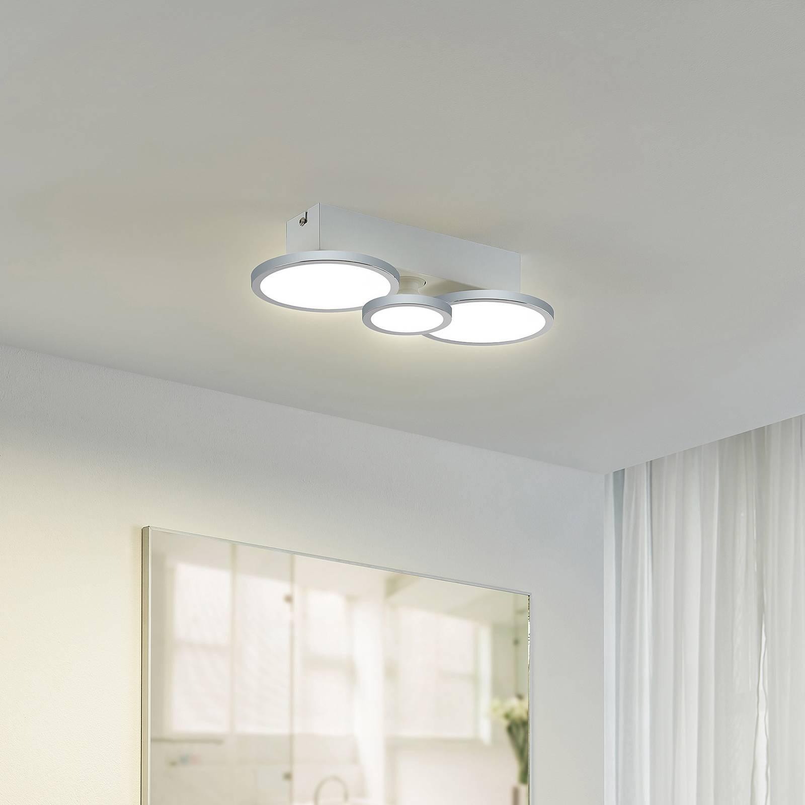 Lindby Amuria -LED-kattovalaisin, 3-lamppuinen