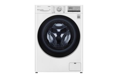 Lg F4dv409n1w Kombinerad Tvätt/torkmaskin - Vit