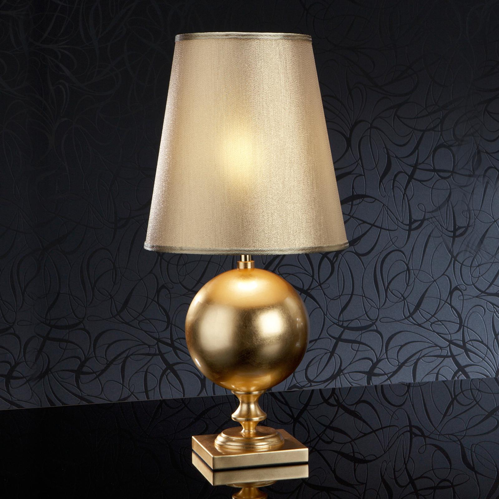 Kultainen, 60 cm korkea Terra-pöytävalaisin