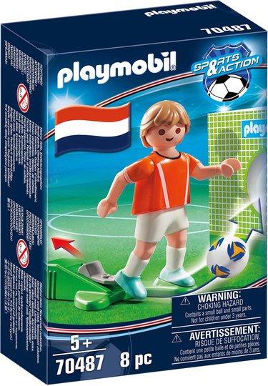 Playmobil 70487 Nederlandsk fotballspiller