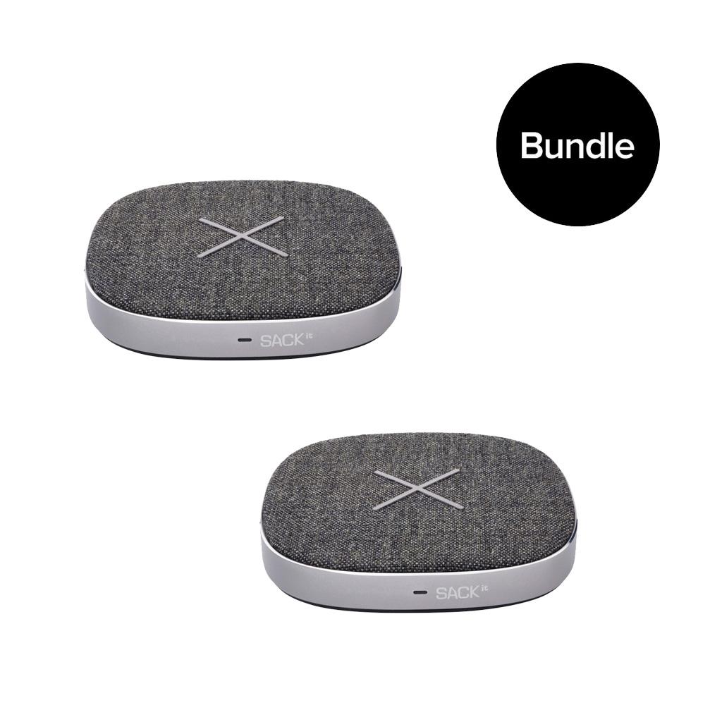 SACKit - 2x CHARGEit Dock Wireless Charger - Bundle