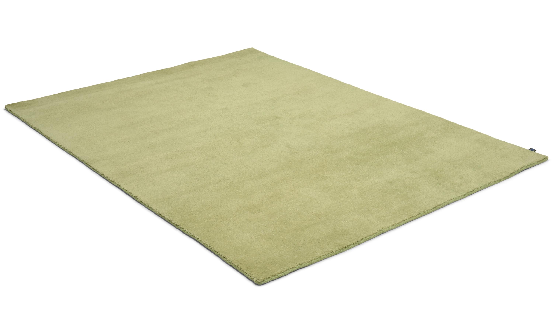 Nepali light green - håndknyttet teppe