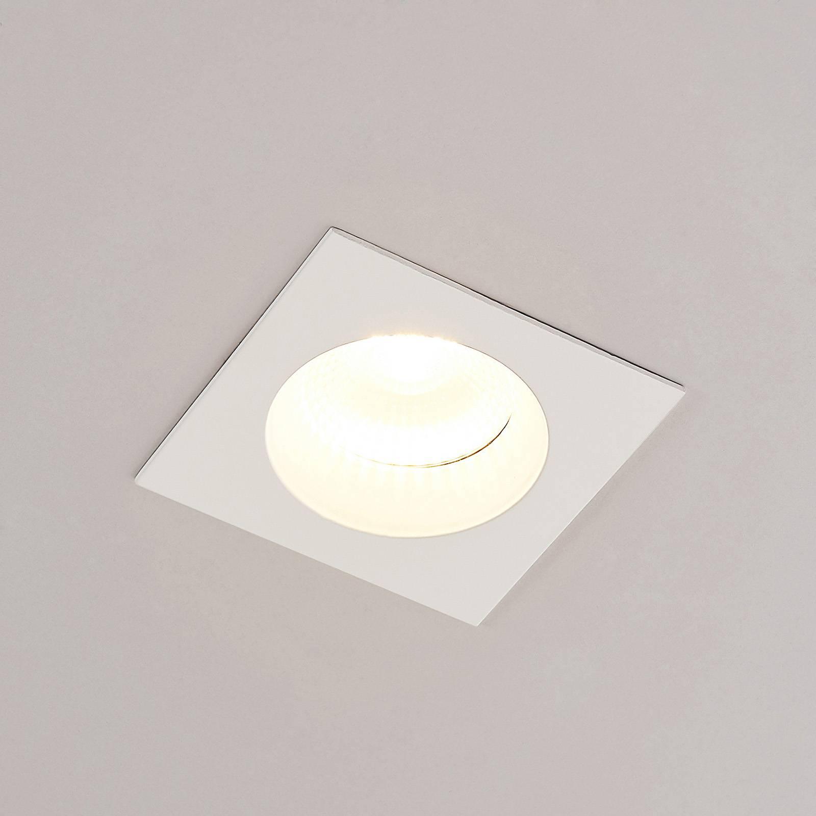 Arcchio Urdin LED-kohdevalo kulmikas IP65, 10,6W