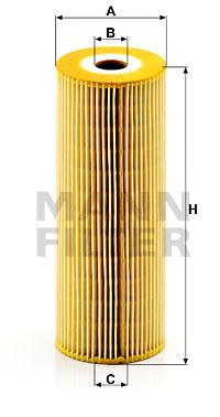 Öljynsuodatin MANN-FILTER HU 947/1 z-2