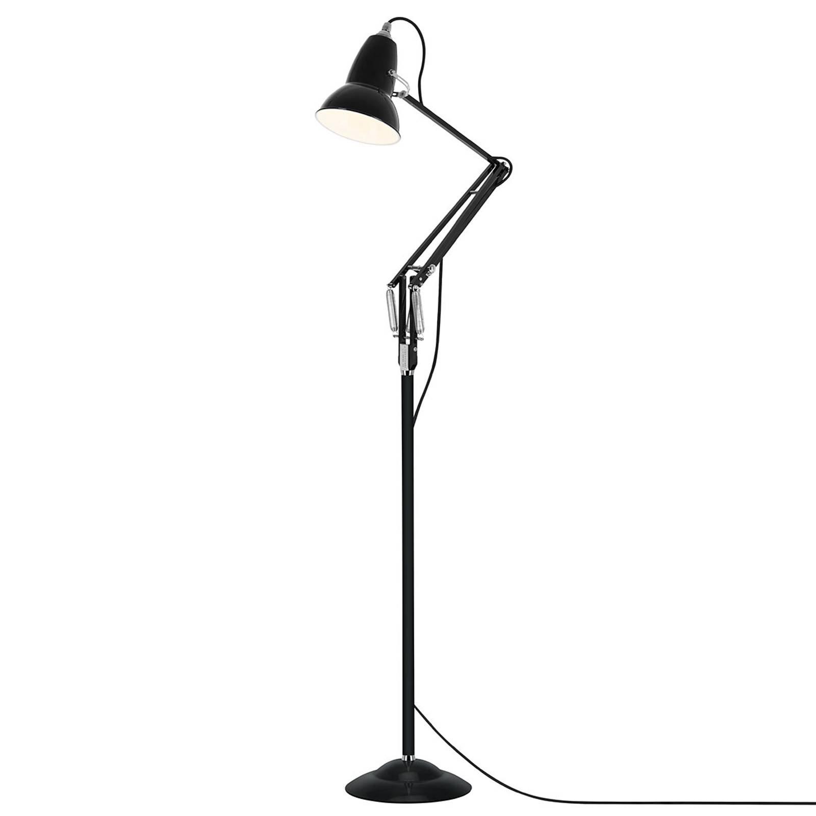 Anglepoise Original 1227 gulvlampe fløyelsvart