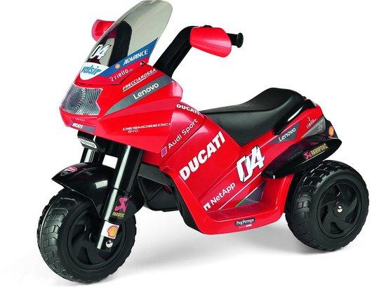 PegPérego Mini Ducati EVO Motorsykkel, Rød