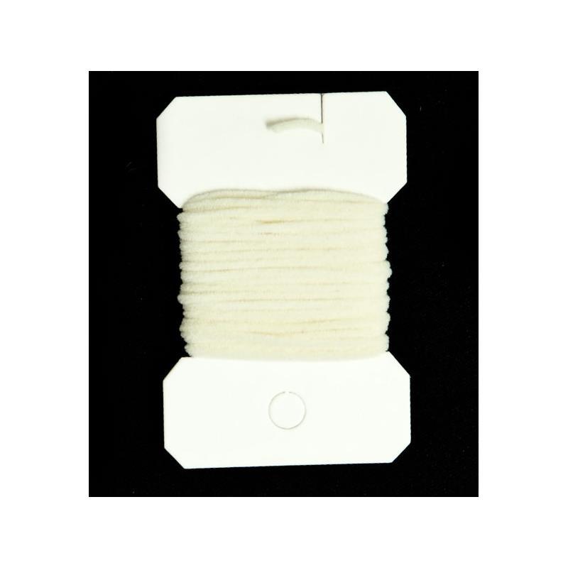 Ultra Chenille Micro - White