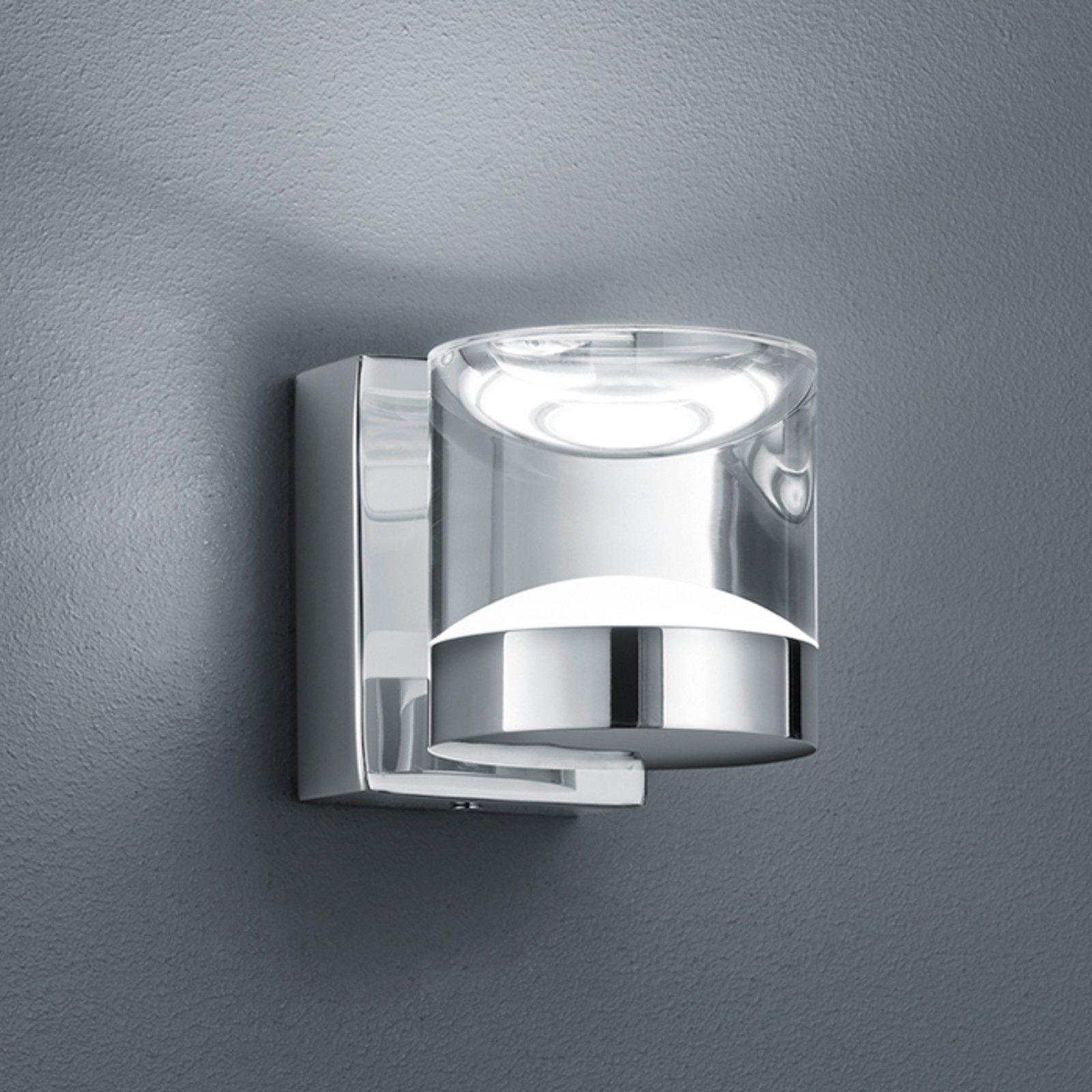 Blank forkrommet LED vegglampe til bad Brian
