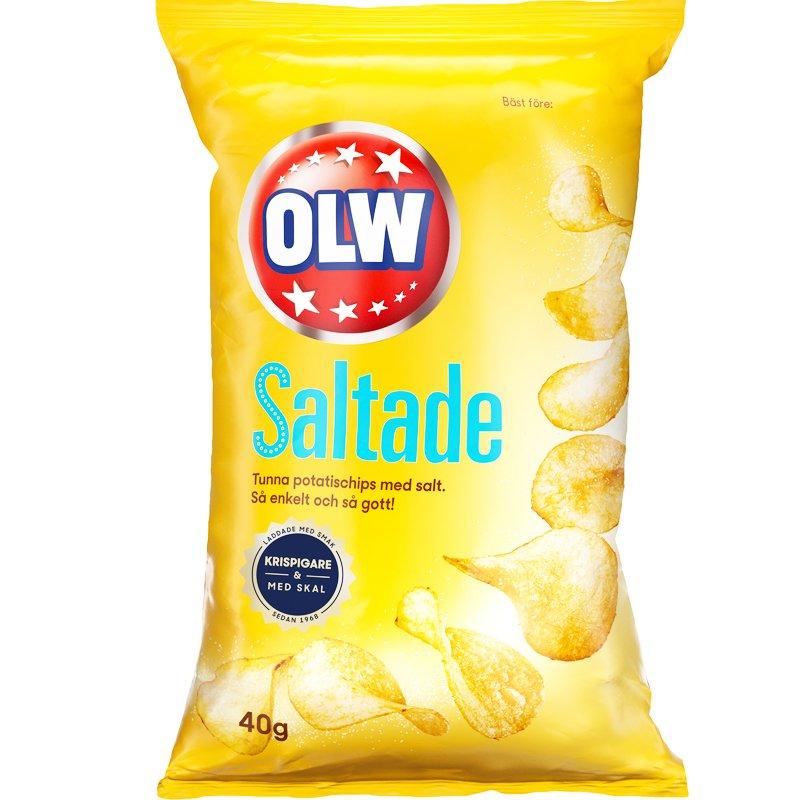 Chips Lättsaltade Portion - 25% rabatt