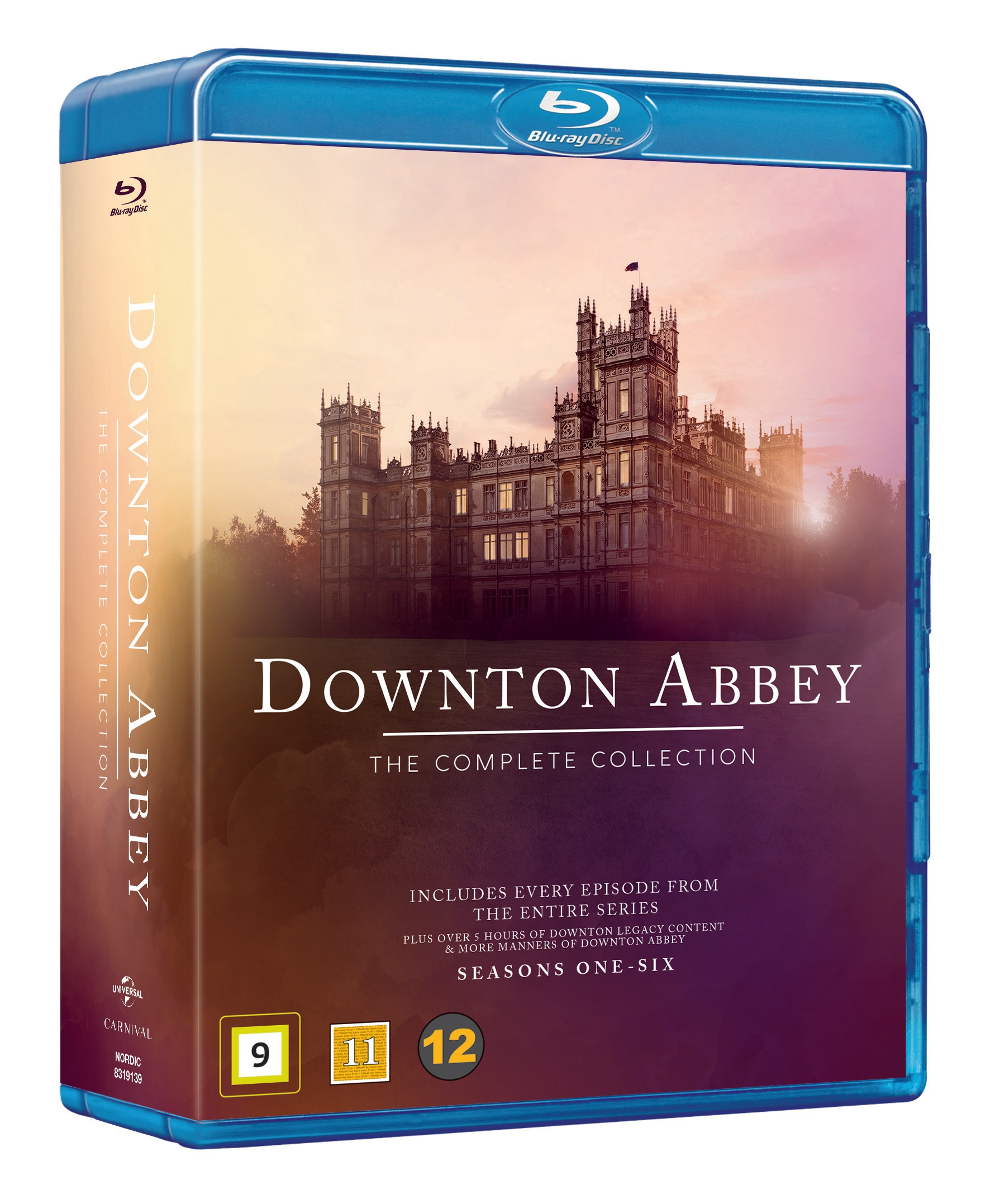 Downton Abbey - Complete Series Blu Ray