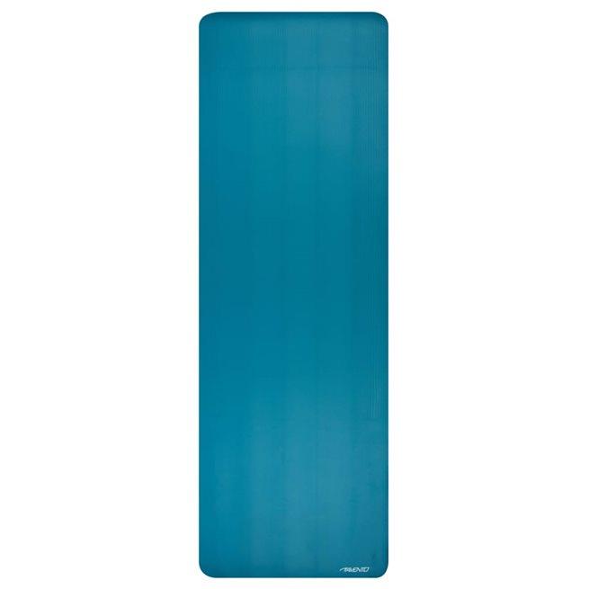 vidaXL Tränings/yogamatta NBR skum blå