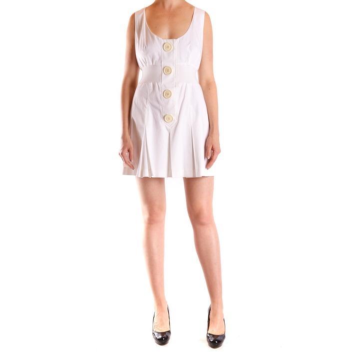 Frankie Morello Women's Dress White 169750 - white 44
