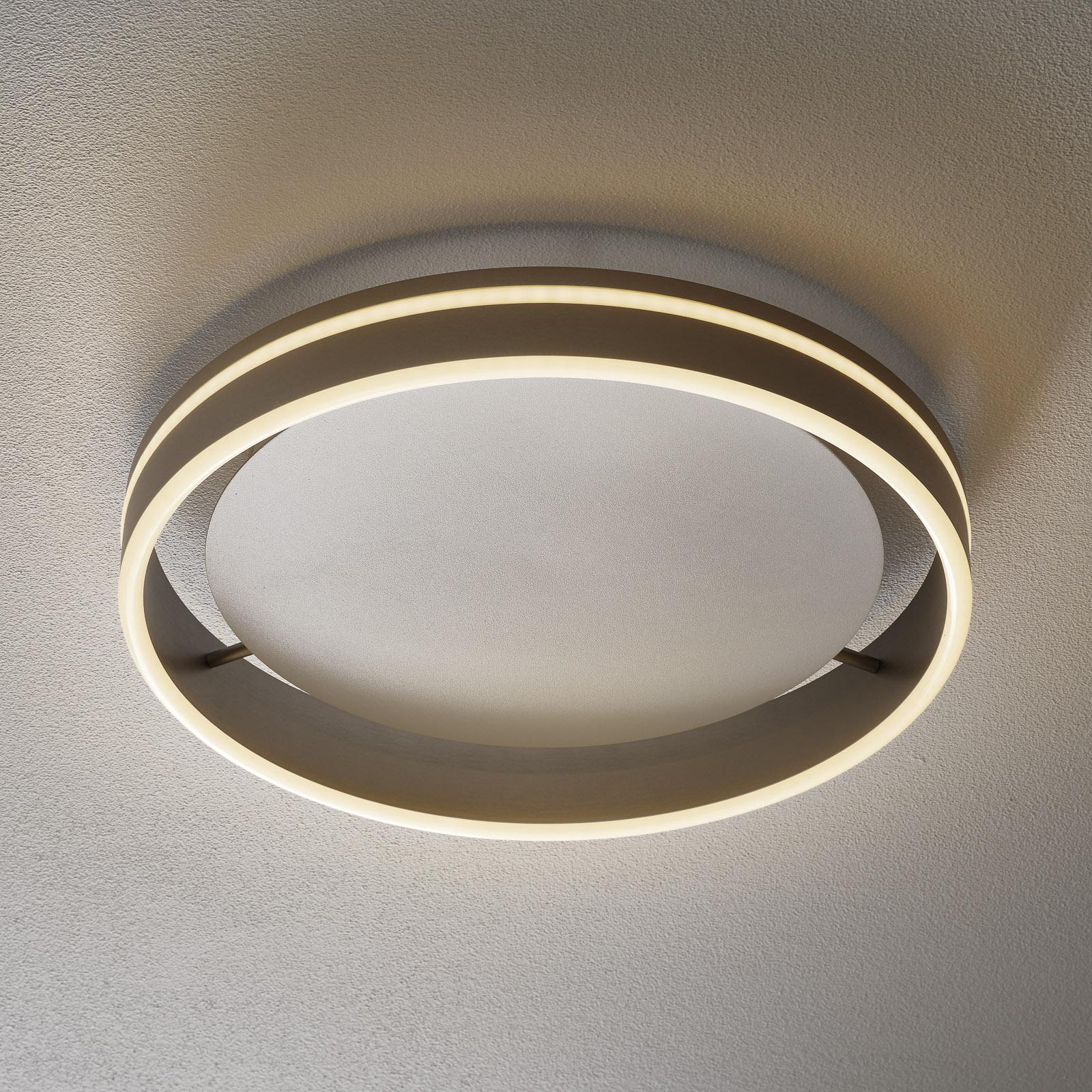 Paul Neuhaus Q-VITO LED-kattovalaisin 40 cm teräs