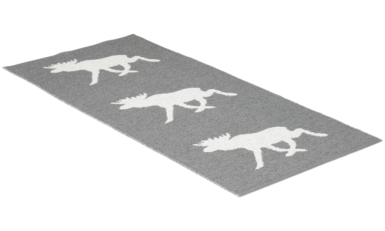 Moose grå - plastteppe