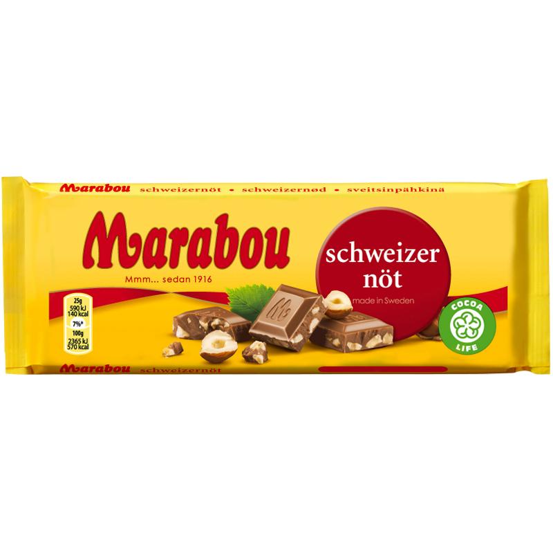 Suklaalevy Sveitsinpähkinä - 20% alennus