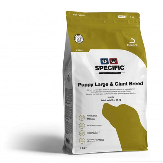Specific™ Puppy Large & Giant Breed CPD-XL (4 kg)
