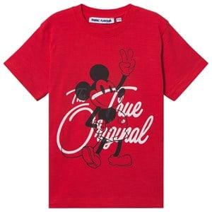 Fabric Flavours Musse Pigg True Original T-shirt Röd 3-4 år