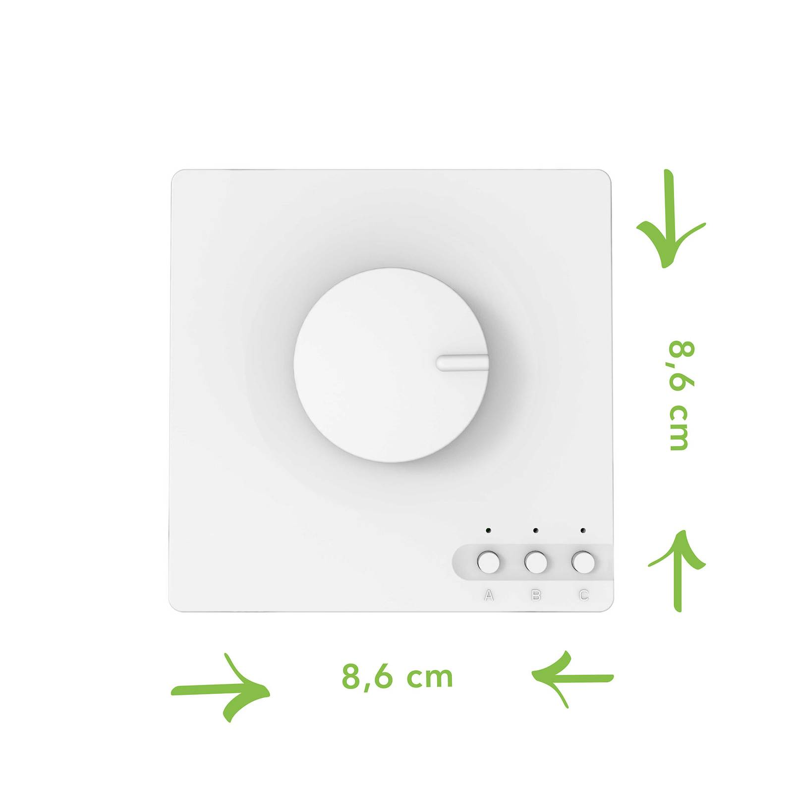 Smart Switch -valaisinkytkin, LUTEC connect