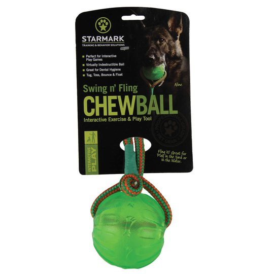 Starmark Swing Fling Chew Boll 8,9 cm