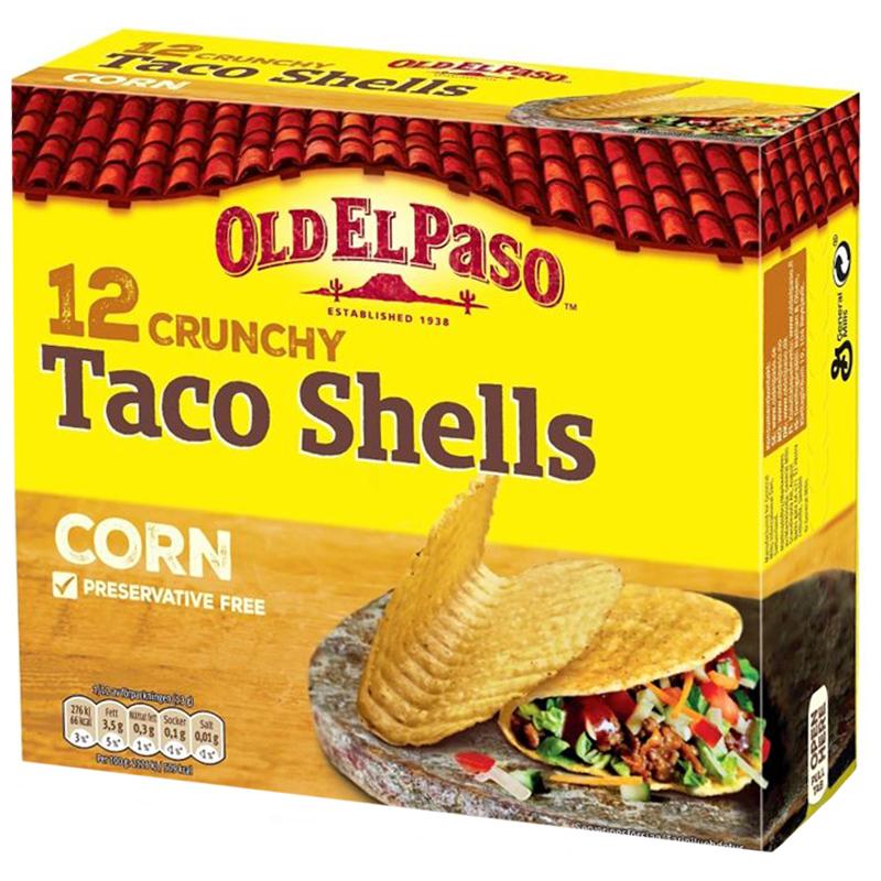 Tacoskal Crunchy - 25% rabatt