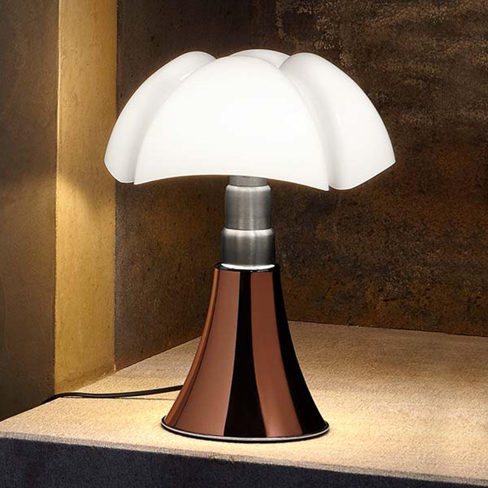 Martinelli Luce Minipipistrello bordlampe kobber