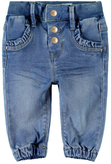 Name it Rie Jeans, Light Blue Denim, 110
