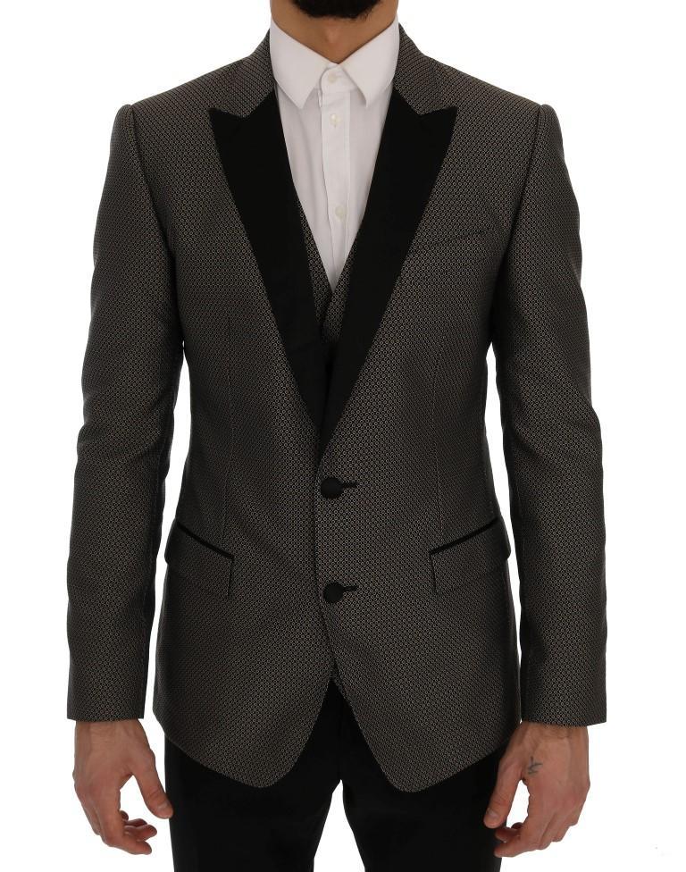 Dolce & Gabbana Men's Two Button Single Breasted Blazer Multicolor SIG60293 - IT48 | M