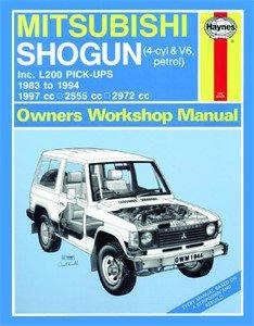 Haynes Reparationshandbok, Mitsubishi Shogun & L200, Universal