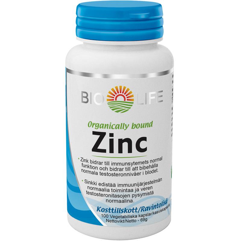 Kosttillskott Zink 100-pack - 79% rabatt
