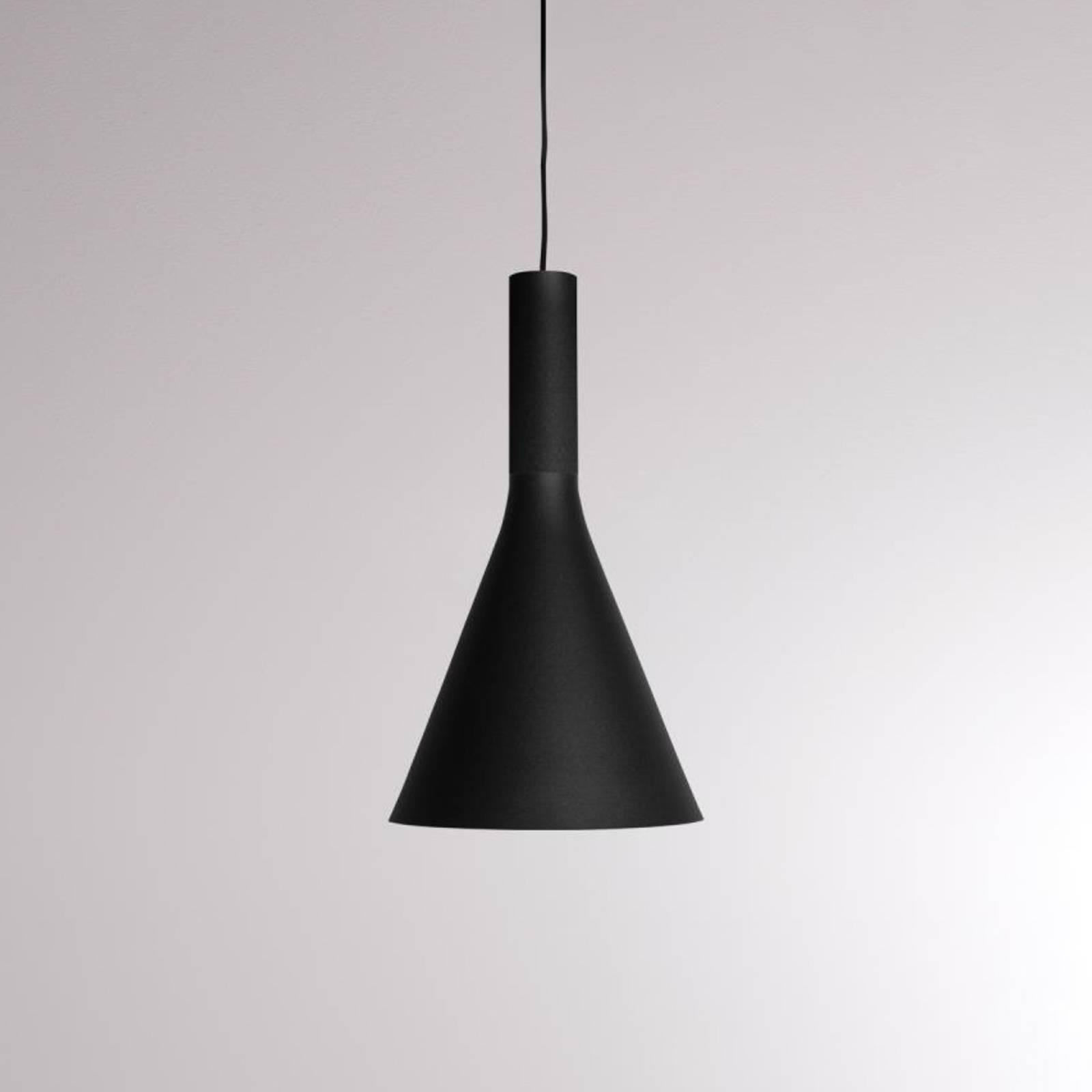 LOUM Lora Shade 1-LED-riippuvalaisin 2 700 K musta