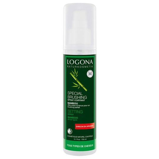 Logona Bamboo Setting Spray, 150 ml